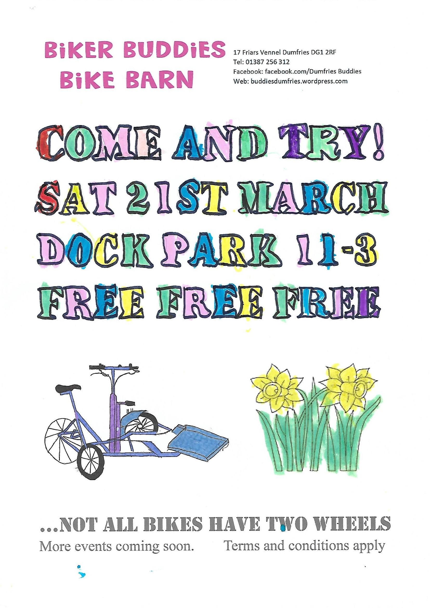 Dock Park Poster Sat 21st March 2020 001